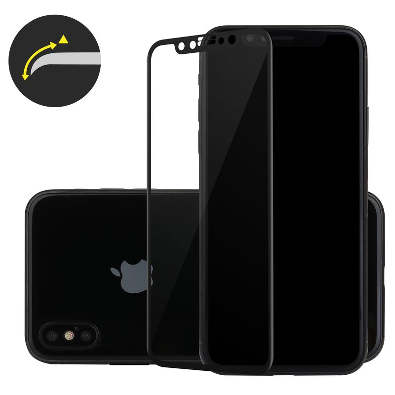 Apple iPhone X Edition 3D Panzerglas schwarz