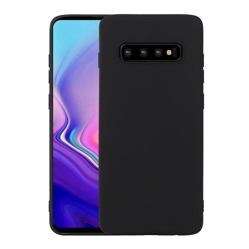 Samsung Galaxy S10 Colourline TPU Schutzhülle schwarz