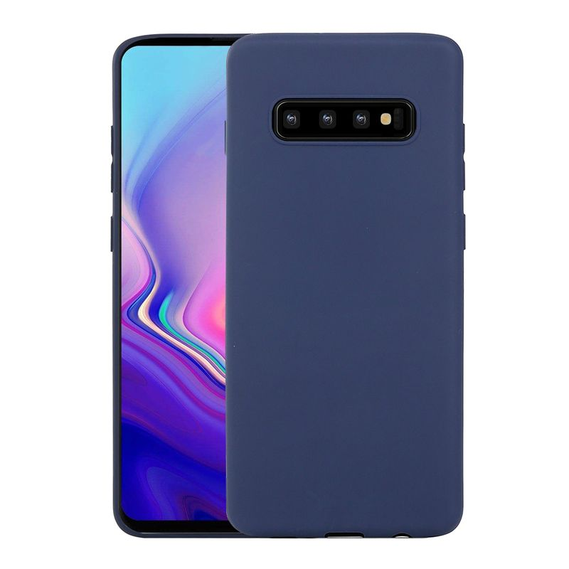 samsung galaxy s10 plus colourline tpu schutzh lle blau. Black Bedroom Furniture Sets. Home Design Ideas