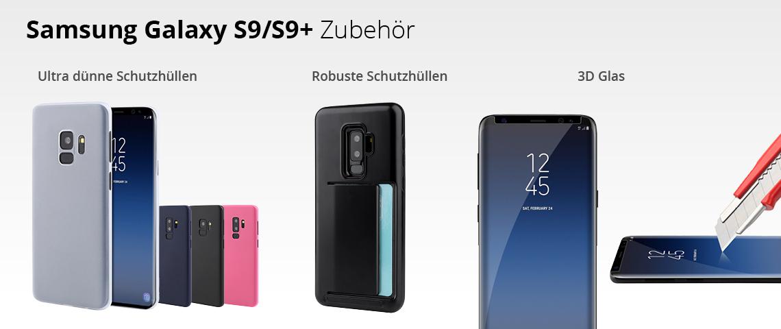 Samsung Glaxy S9 / S9+ Zubehör